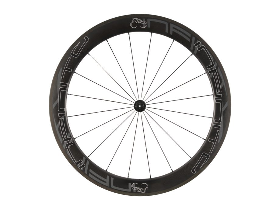 R6C – Zwarte velg – Zwarte naaf – Front – 1
