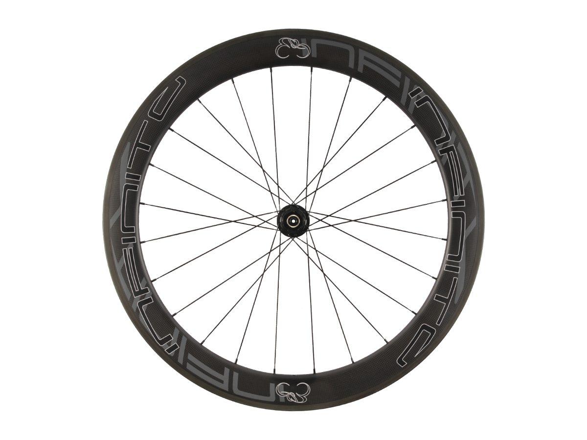 R6C – Zwarte velg – Zwarte naaf – Rear – 1